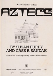 Cover of: Aztecs | Susan Gold Purdy