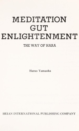 Meditation gut enlightenment by Haruo Yamaoka