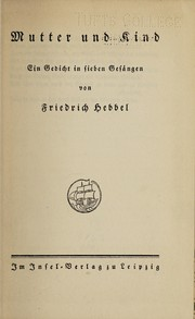 Cover of: Mutter und Kind