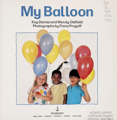 My balloon by Kay Davies