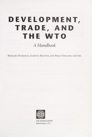 Cover of: Development, trade, and the WTO