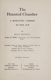 Cover of: The haunted chamber