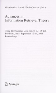 Cover of: Advances in Information Retrieval Theory | Giambattista Amati