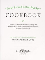 Cover of: Fresh from Central Market cookbook