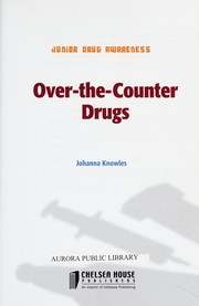 Cover of: Over-the-Counter Drugs (Junior Drug Awareness)