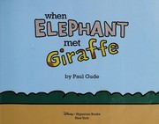 Cover of: Giraffe and Elephant are friends