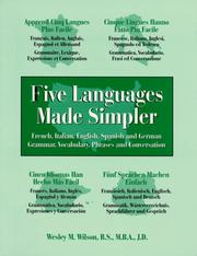Cover of: Five Languages Made Simpler