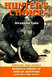 Cover of: Hunter's choice