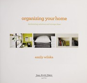 Cover of: Organizing your home