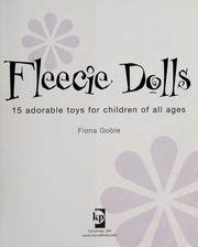 Fleecie dolls by Fiona Goble