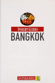 Cover of: Bangkok | Howard Richardson