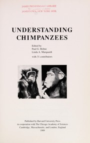 Cover of: Understanding chimpanzees |