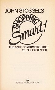 Cover of: Shopping Smart Tr