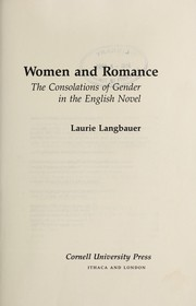 Cover of: Women and romance