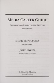 Cover of: Media Career Guide