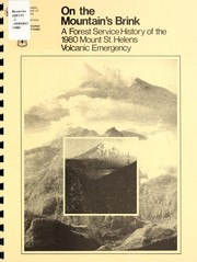 Cover of: On the mountain's brink