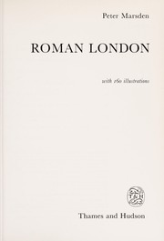 Cover of: Roman London