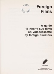 Cover of: Foreign films |