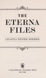Cover of: The Eterna files