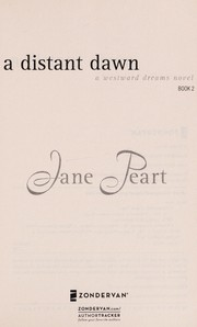Cover of: A distant dawn | Jane Peart