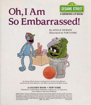 Cover of: Oh, I am so embarrassed! (A Growing-up book)