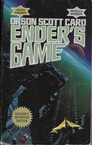 Cover of: Ender's Game | Orson Scott Card