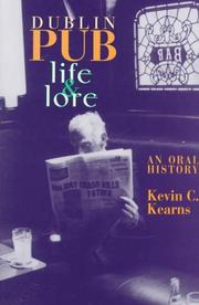 Cover of: Dublin pub life and lore