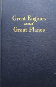 Cover of: Great engines and great planes | Wesley Winans Stout