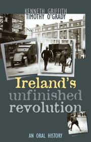 Cover of: Ireland's Unfinished Revolution: An Oral History