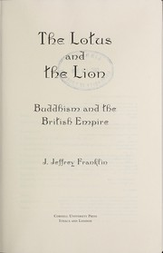 Cover of: The lotus and the lion