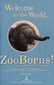 Cover of: Welcome to the World, ZooBorns! | Andrew Bleiman