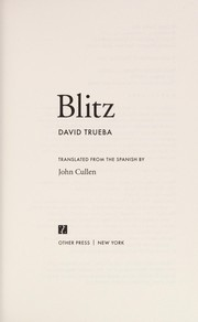 Cover of: Blitz
