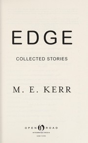 Cover of: Edge