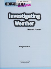 Cover of: Investigating weather: weather systems