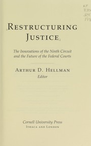 Cover of: Restructuring justice |