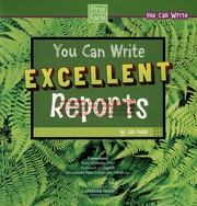 Cover of: You can write excellent reports | Jan Fields