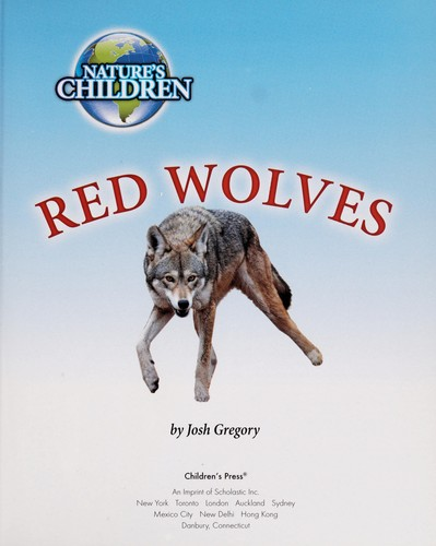 Red wolves by Josh Gregory