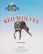 Cover of: Red wolves | Josh Gregory