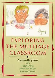 Cover of: Exploring the multiage classroom