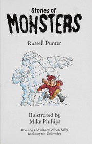 Cover of: Stories of monsters | Russell Punter