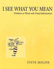 Cover of: I see what you mean | Steve Moline