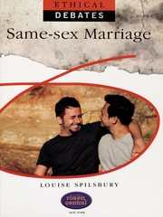 Cover of: Same-sex marriage | Louise Spilsbury
