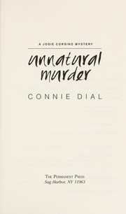 Cover of: Unnatural murder | Connie Dial