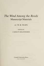 Cover of: The wind among the reeds | William Butler Yeats