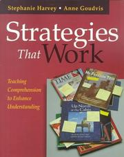 Cover of: Strategies That Work | Stephanie Harvey