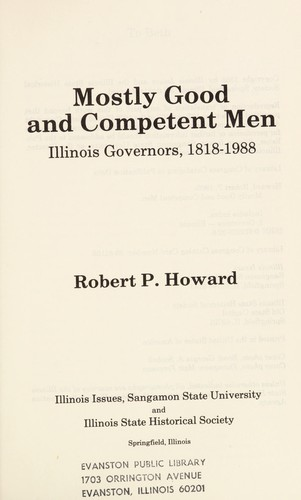 Mostly Good and Competent Men by Robert P. Howard