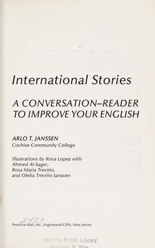 International stories (edition) | Open Library