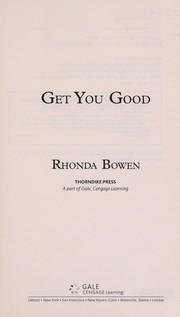 Cover of: Get you good