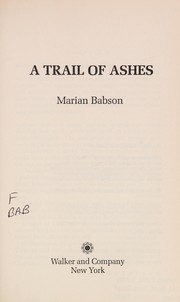 Cover of: A trail of ashes