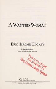 Cover of: A wanted woman